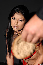 Young Yoha gets bound tight and spanked hard everywhere